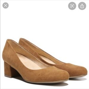 Naturalizer Donelle Suede Block Heels 8